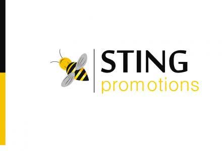"""работы дизайнера Christian Habib логотип фирмы """"Sting Promotions"""""""