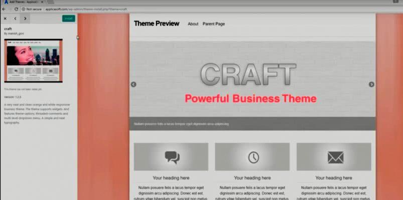 Создаем динамический сайт